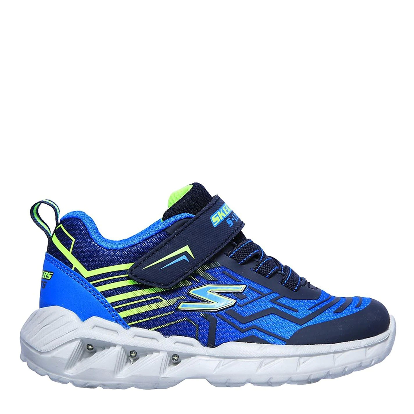 Skechers Magna Light Up Trainers Navy/Blue