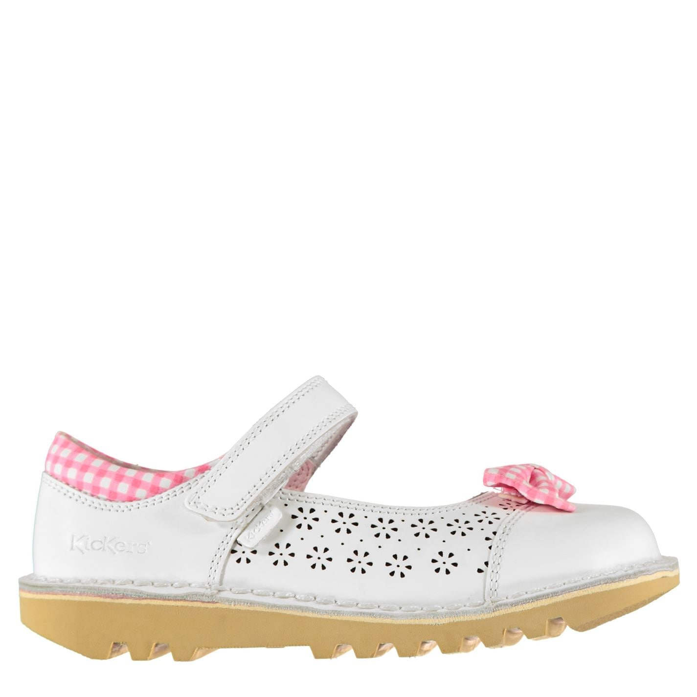 Kickers Kickers Bowtie 2 Infant Girls Shoes White