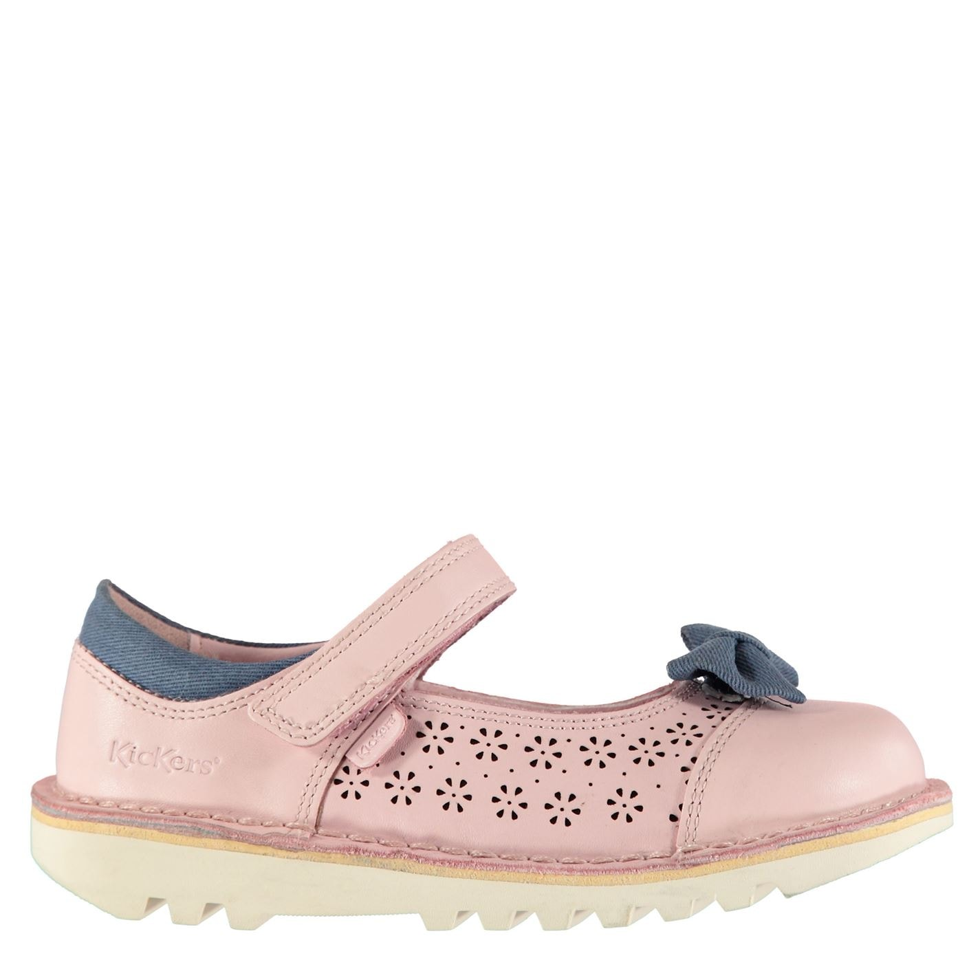Kickers Kickers Bowtie 2 Infant Girls Shoes Pink