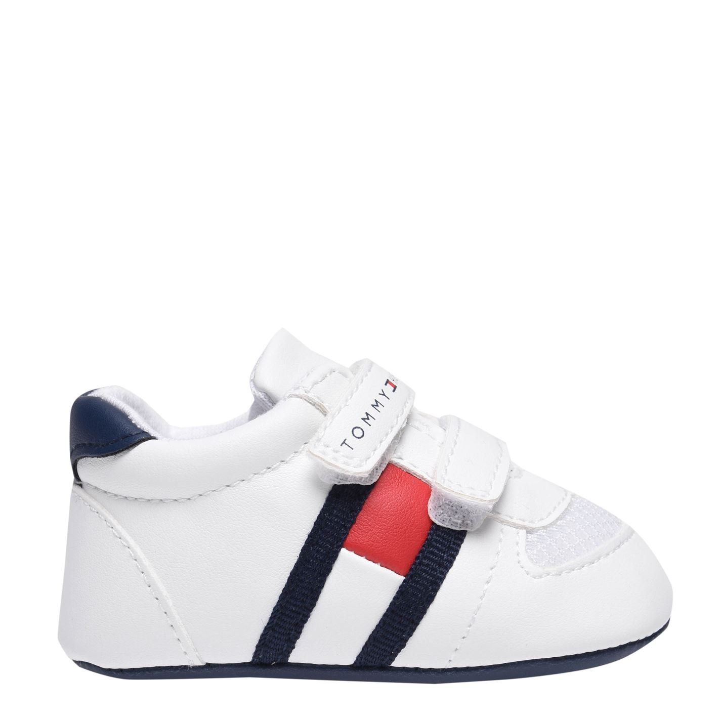 Tommy Hilfiger Tommy Flag Velcro Trainers White X336