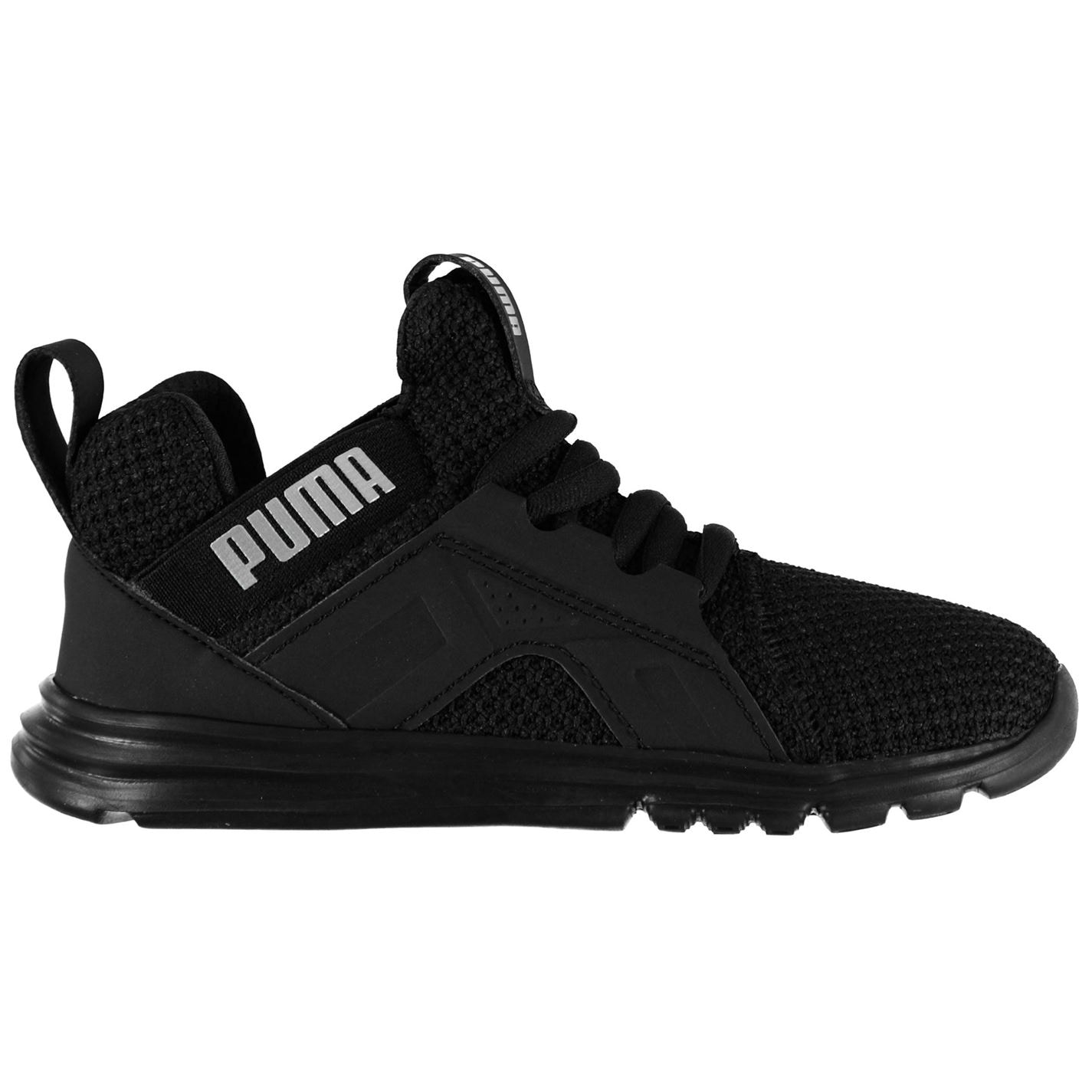 Puma Enzo Weave Trainers Infant Boys Black