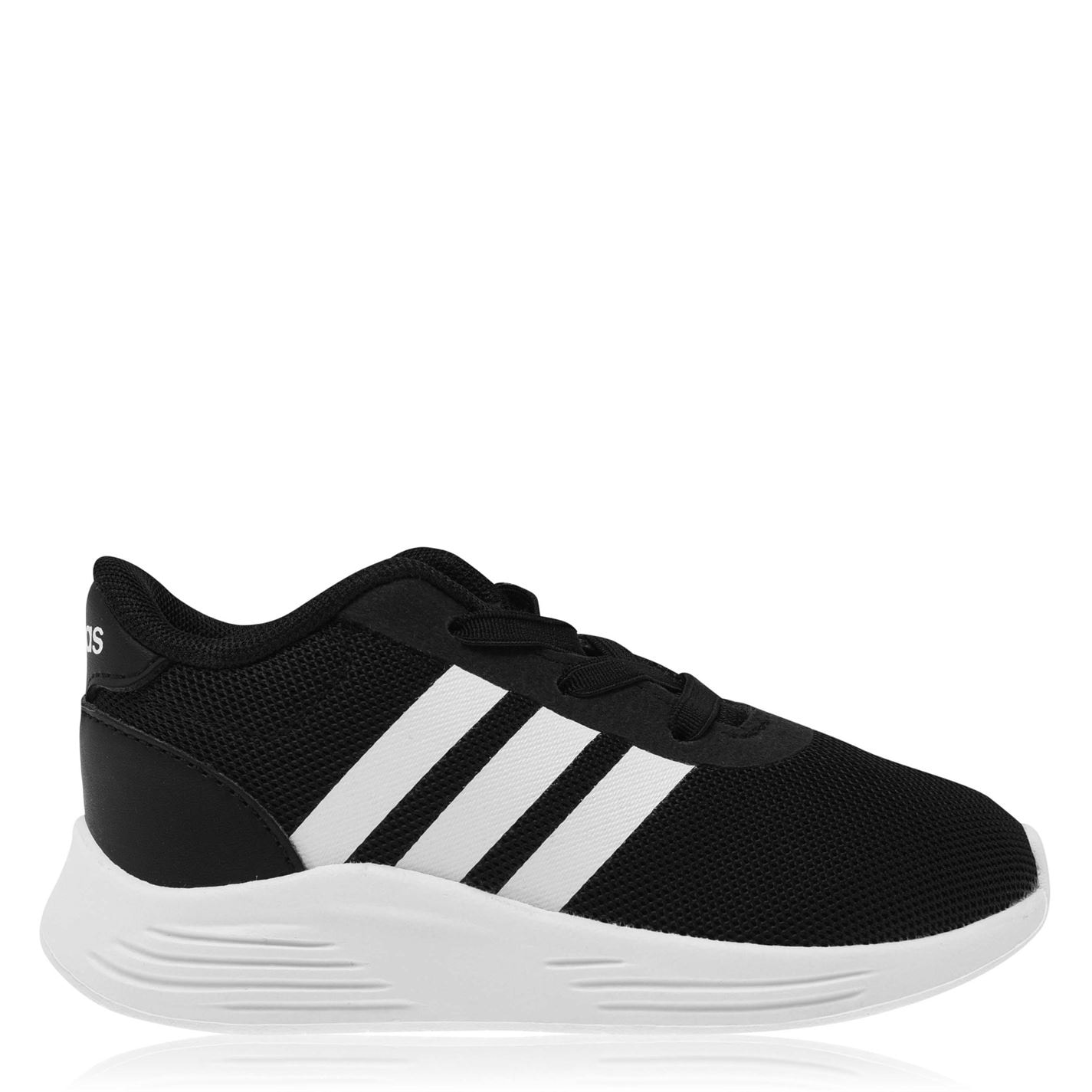 adidas Lite Racer 2 Infant Boys Trainers Black/White