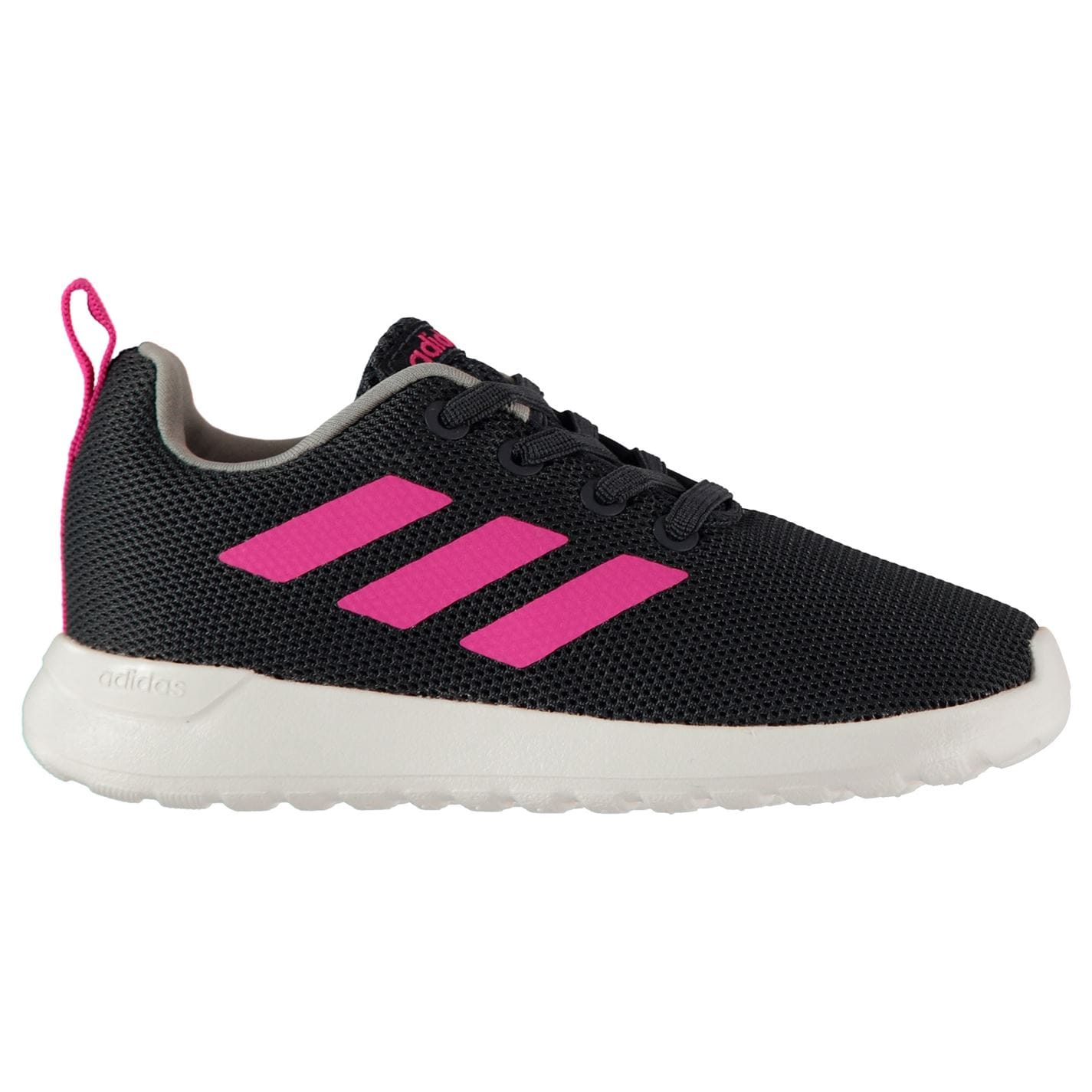 adidas Lite Racer Trainers Infant Girls Navy/Pink/Wht