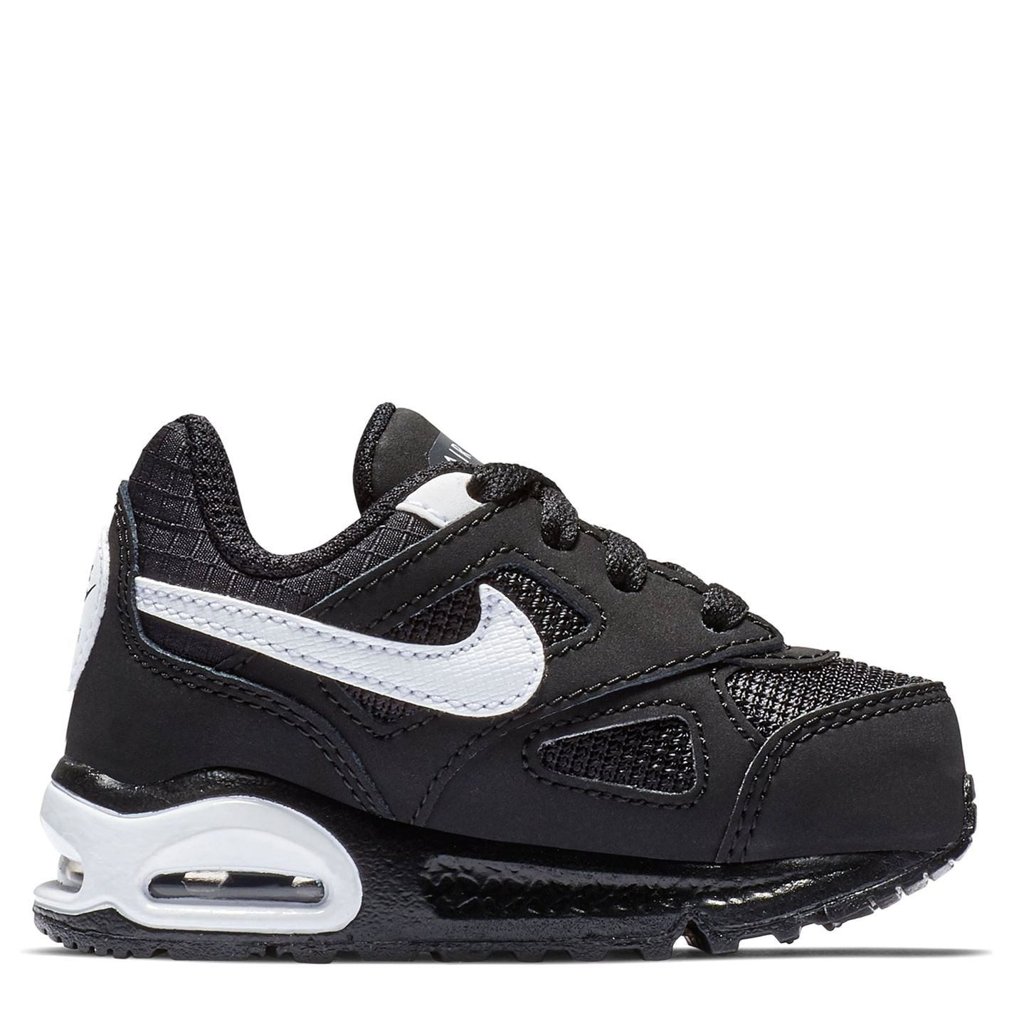 Nike Air Max Ivo Infant Boys Trainers Black/White
