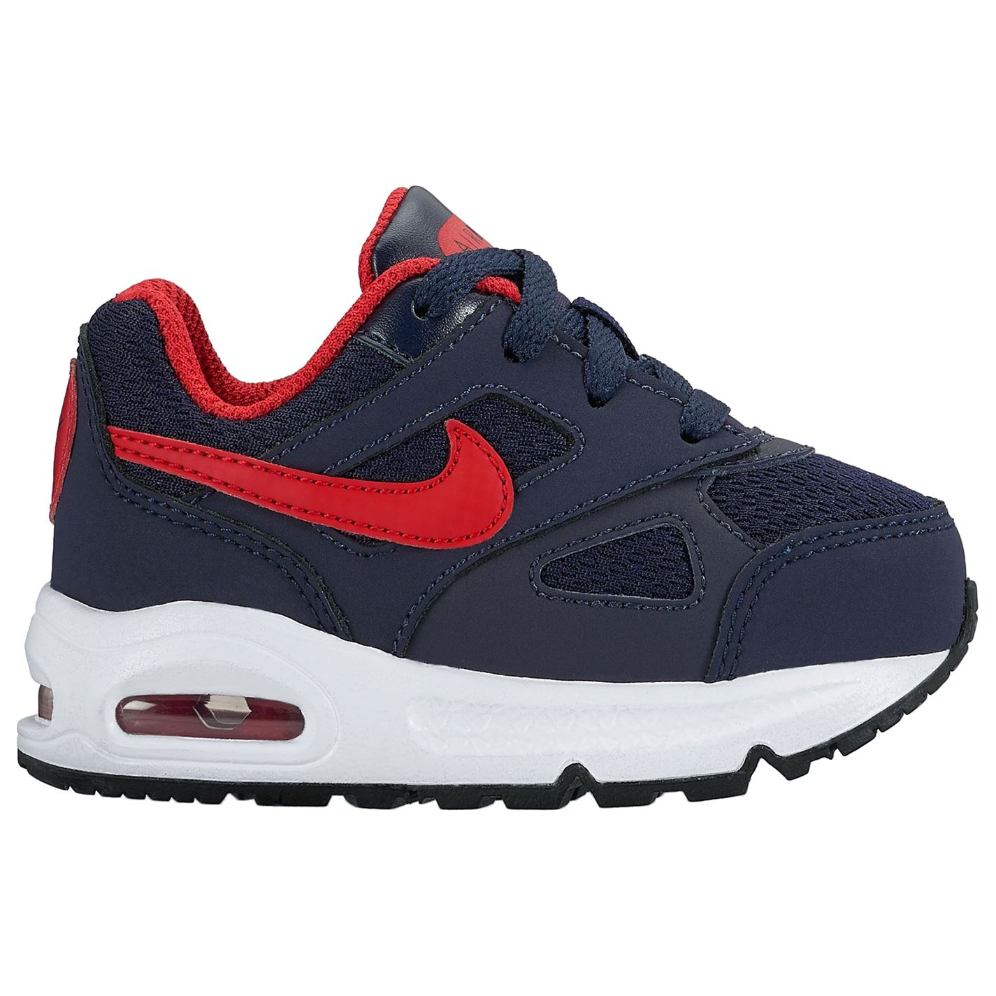 Nike Air Max Ivo Infant Boys Trainers Navy/Red