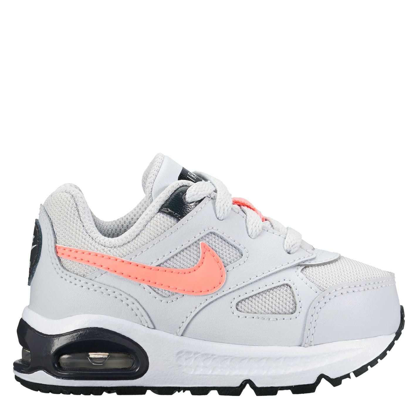 Nike Air Max Ivo Infants Trainers Platinum/Pink