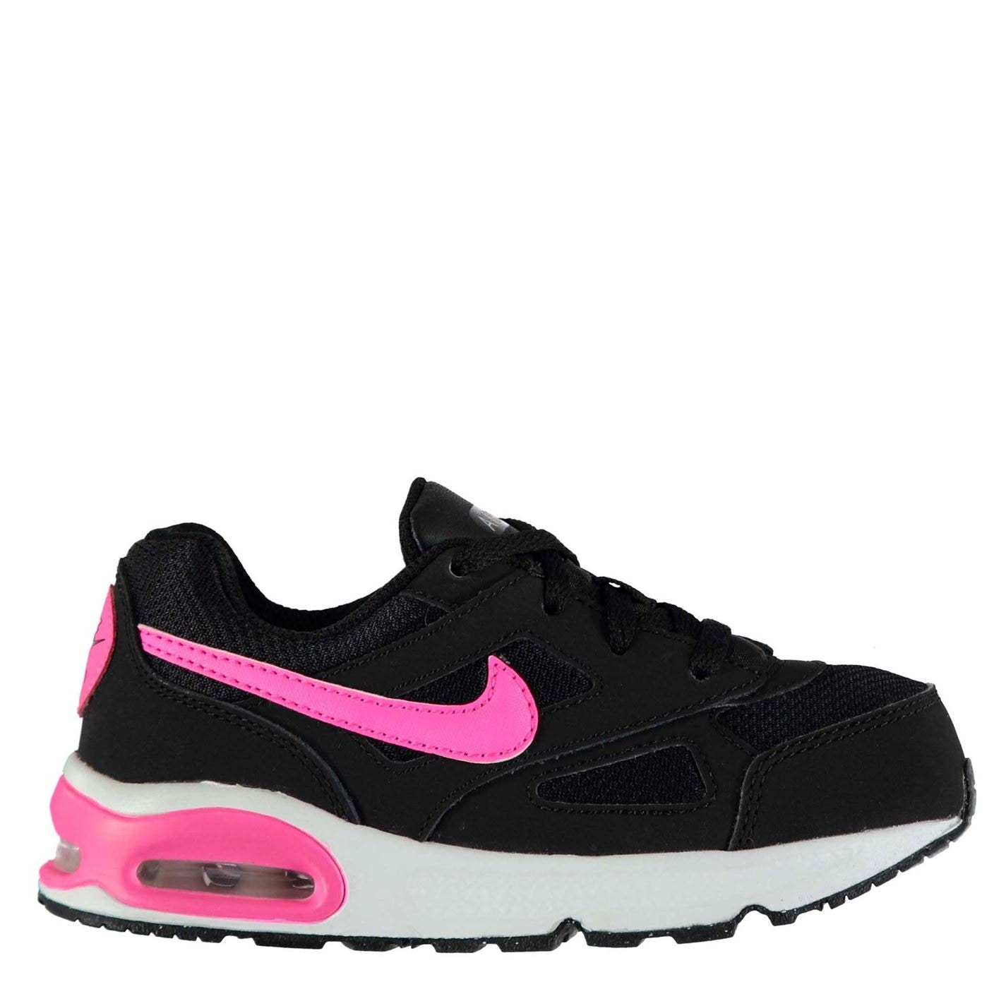 Nike Air Max Ivo Infants Trainers BLACK/PINK POW-BLACK