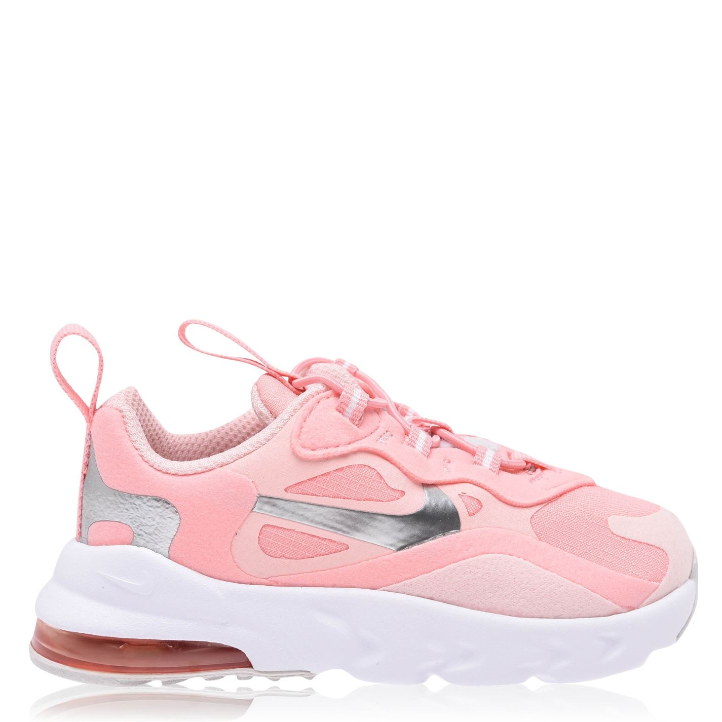 Nike Air Max 270 Trainers Infant Girls Pink/Silver