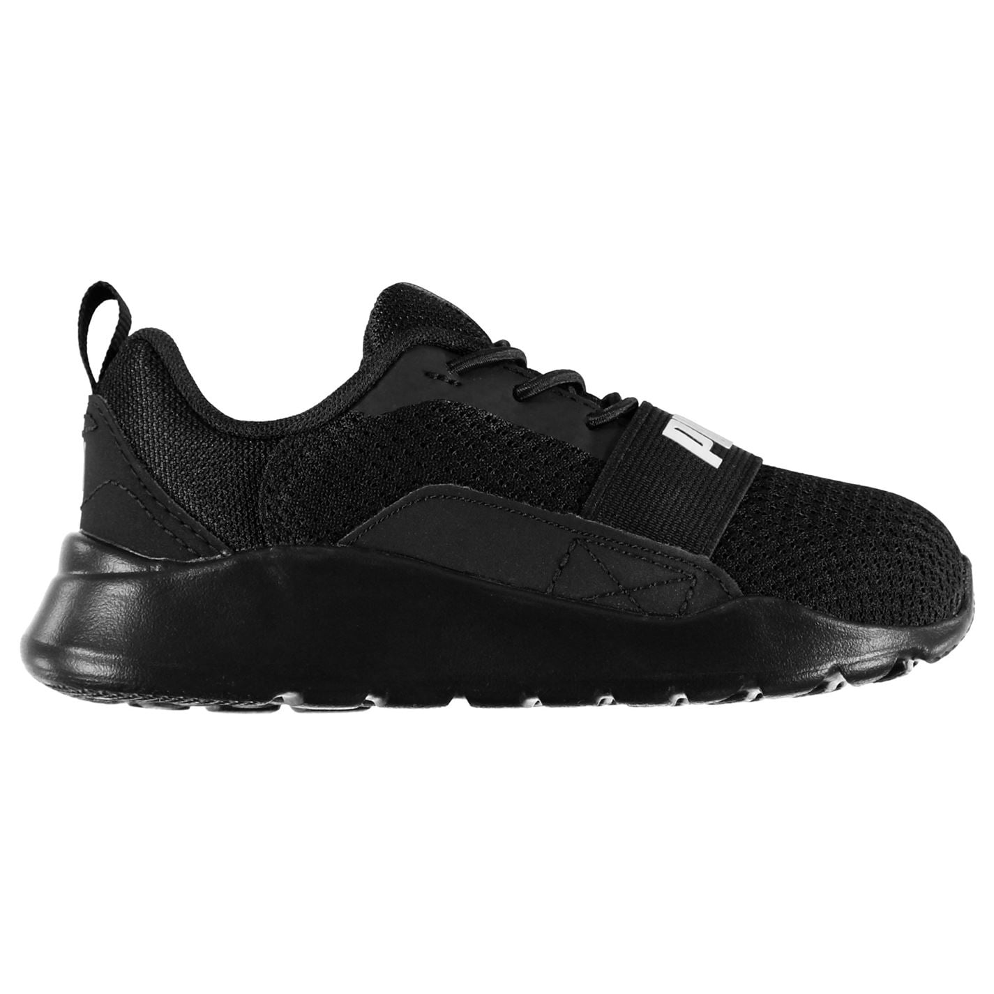 Puma Wired Infant Boys Trainers Black/White