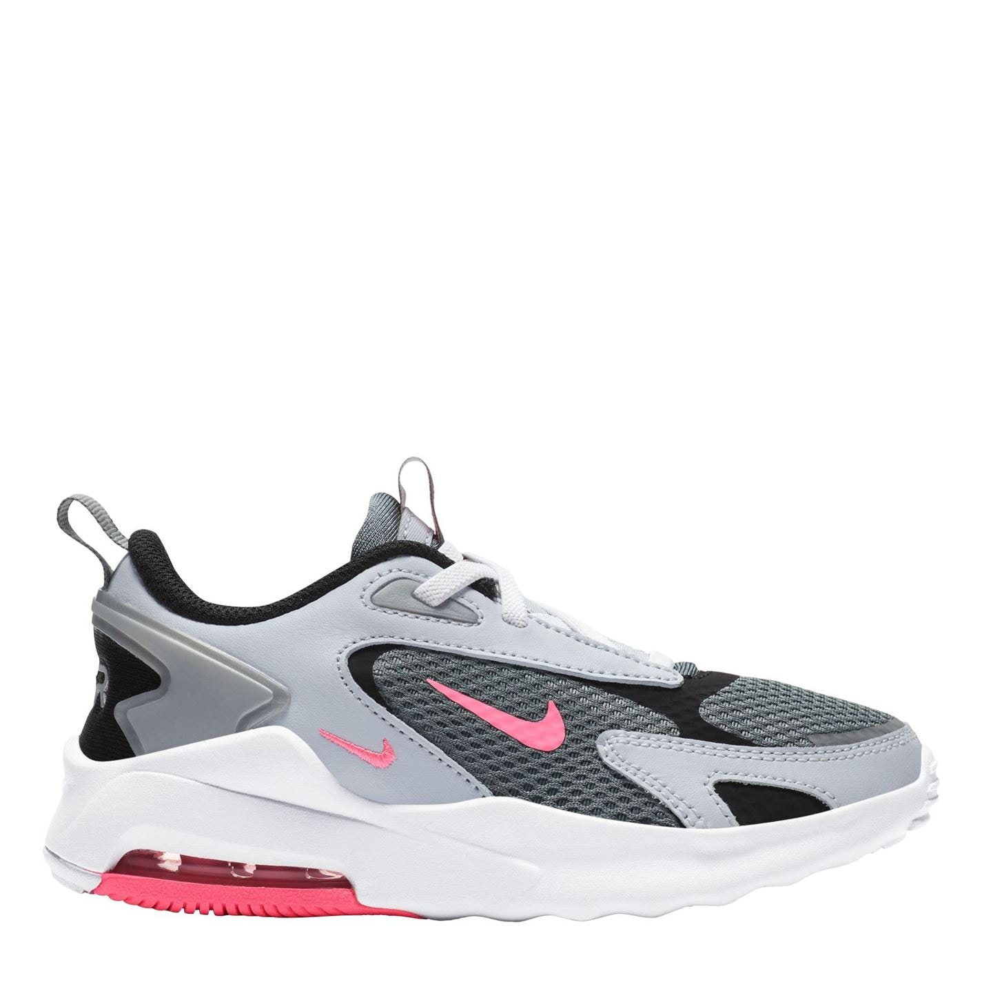 Nike Air Max Bolt Trainers Infant Girls Grey/Pink