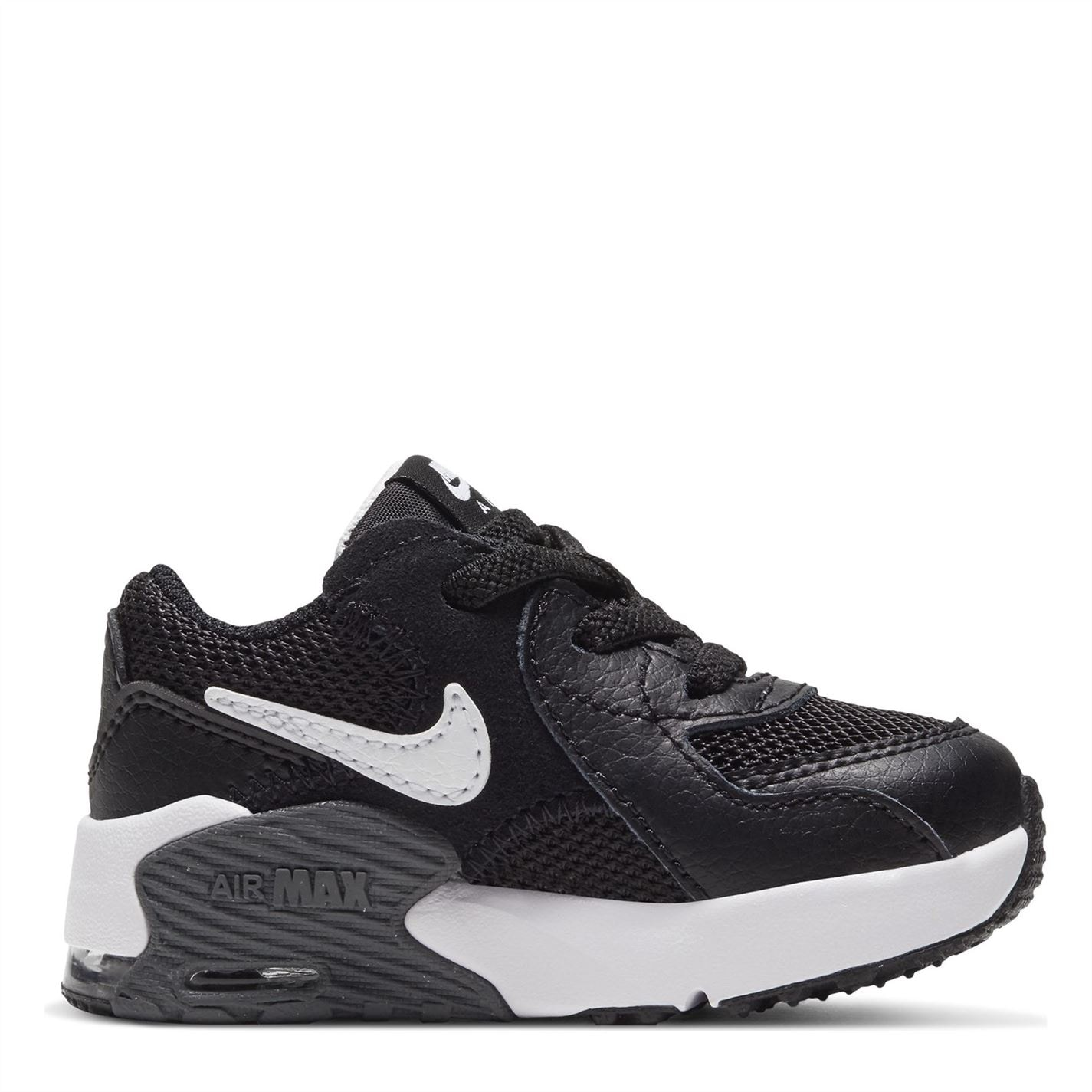 Nike Air Max Excee Trainers Infant Boys BLACK/WHITE-DARK GREY