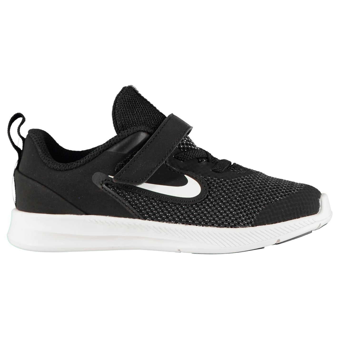 Nike Downshifter 9 Infant/Toddler Shoe BLACK/WHITE-ANTHRACITE-COOL GR