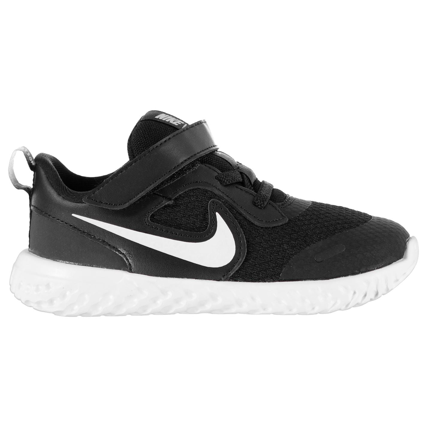 Nike Revolution 5 Baby/Toddler Shoe Black/White