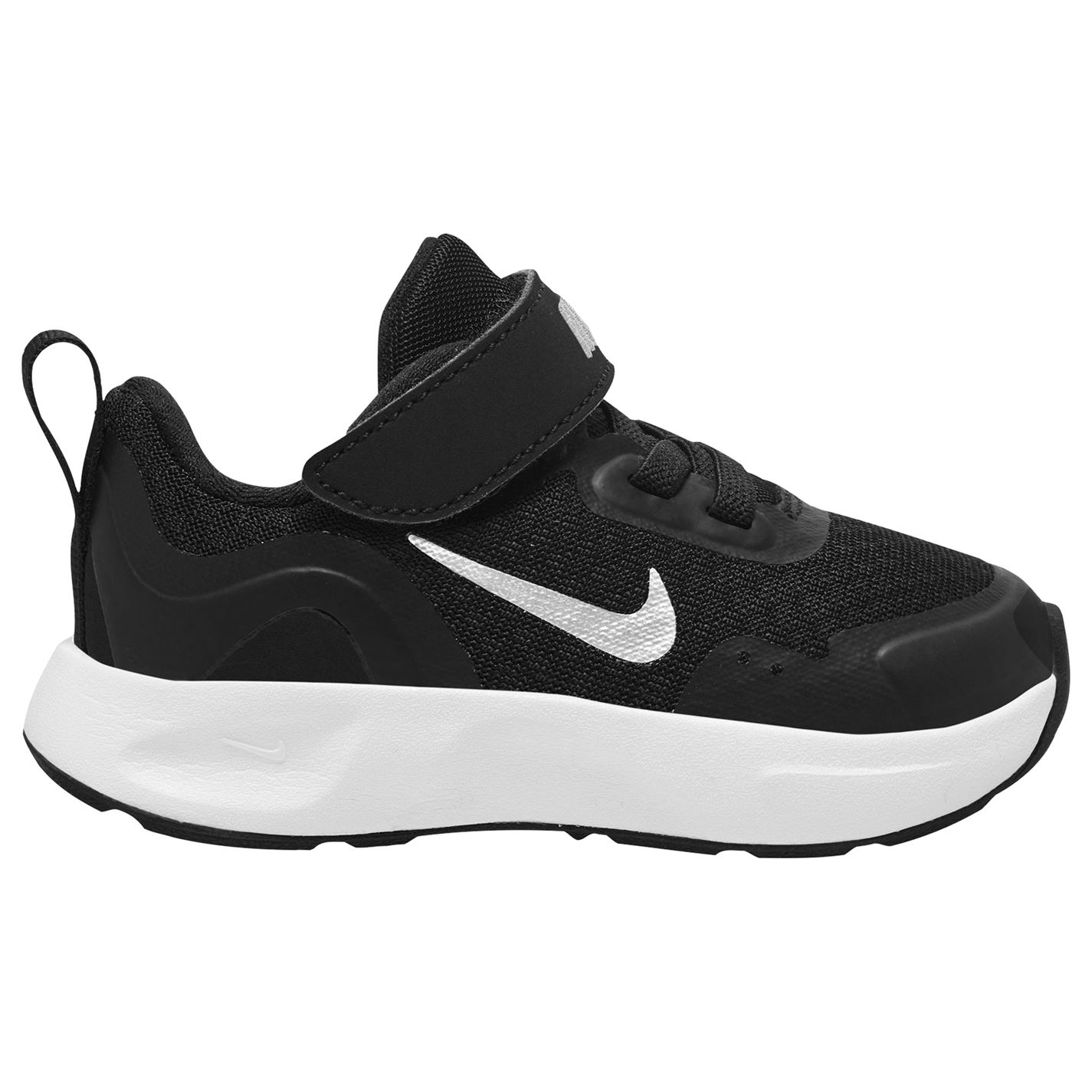 Nike Wear All Day Infant Trainers BLACK/WHITE
