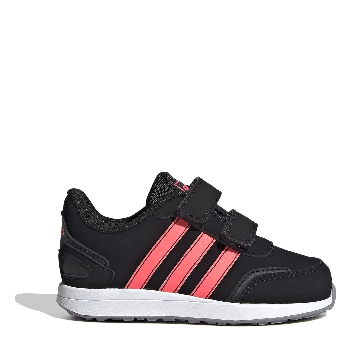 adidas Switch Nubuck Infant Girls Trainers Blk/Pink/Wht