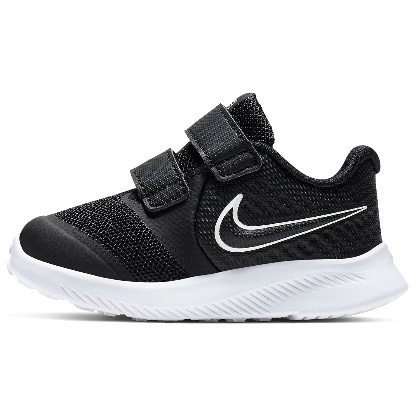 Nike Star Runner 2 Baby/Toddler Shoe Black/White