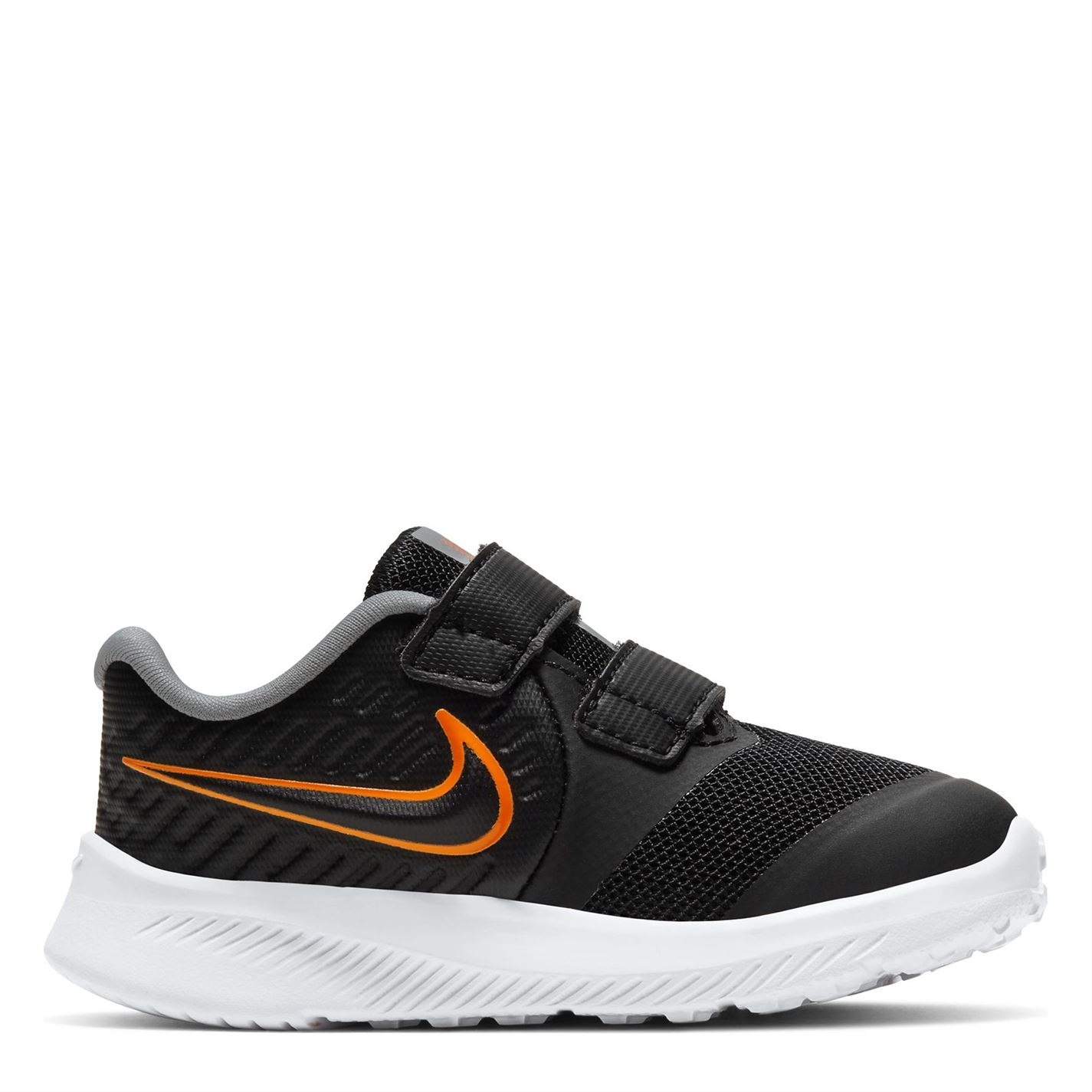 Nike Star Runner 2 Baby/Toddler Shoe Black/Orange