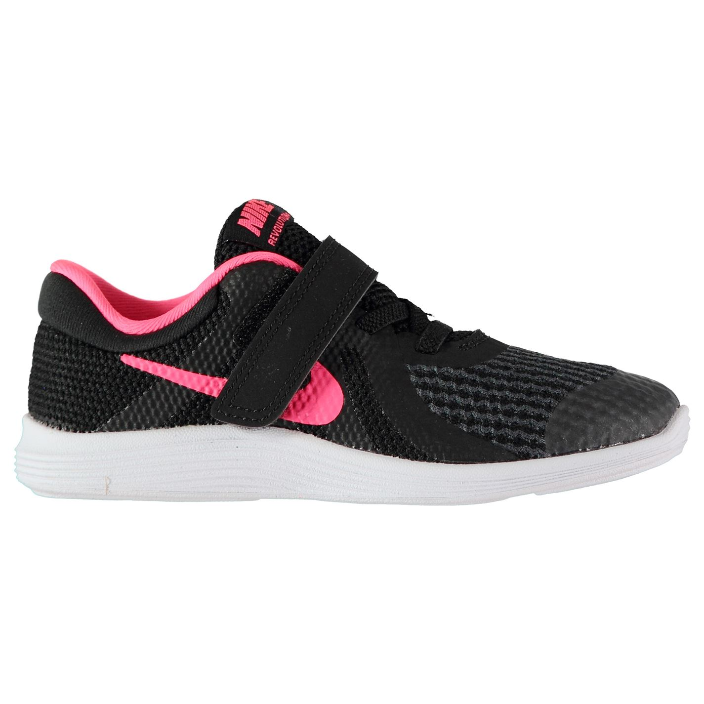 Nike Revolution 4 Baby/Toddler Shoe Black/Pink