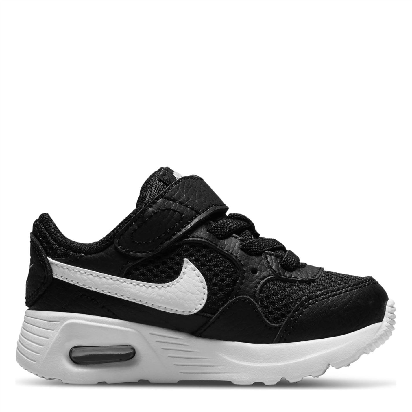 Nike Air Max Baby/Toddler Shoe Black/White