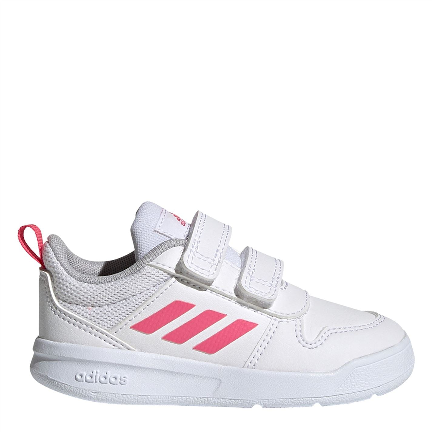 adidas Tensaur 2 Infant Girls Trainers White/Pink