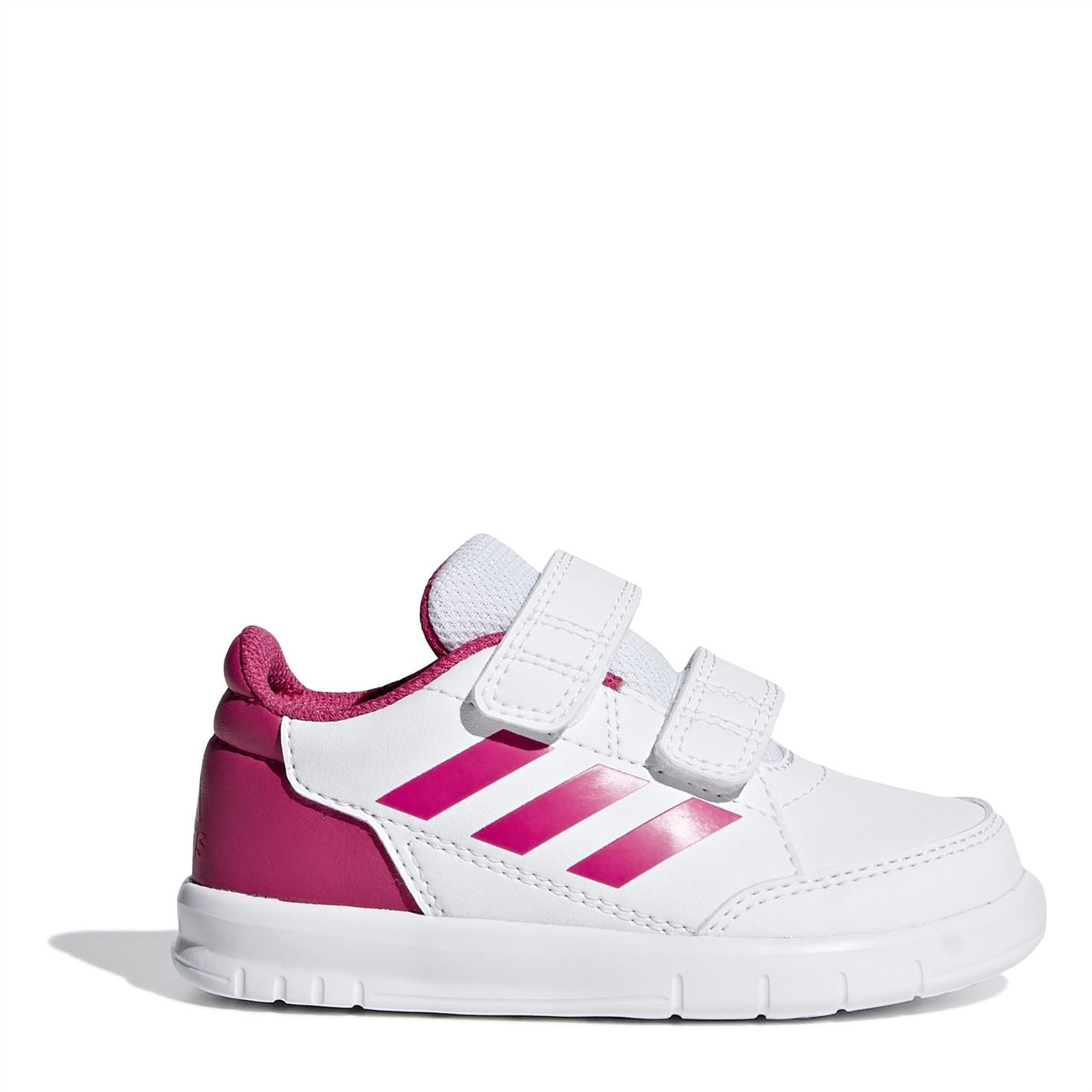 adidas Alta Sport Infant Girls Trainers White/Pink