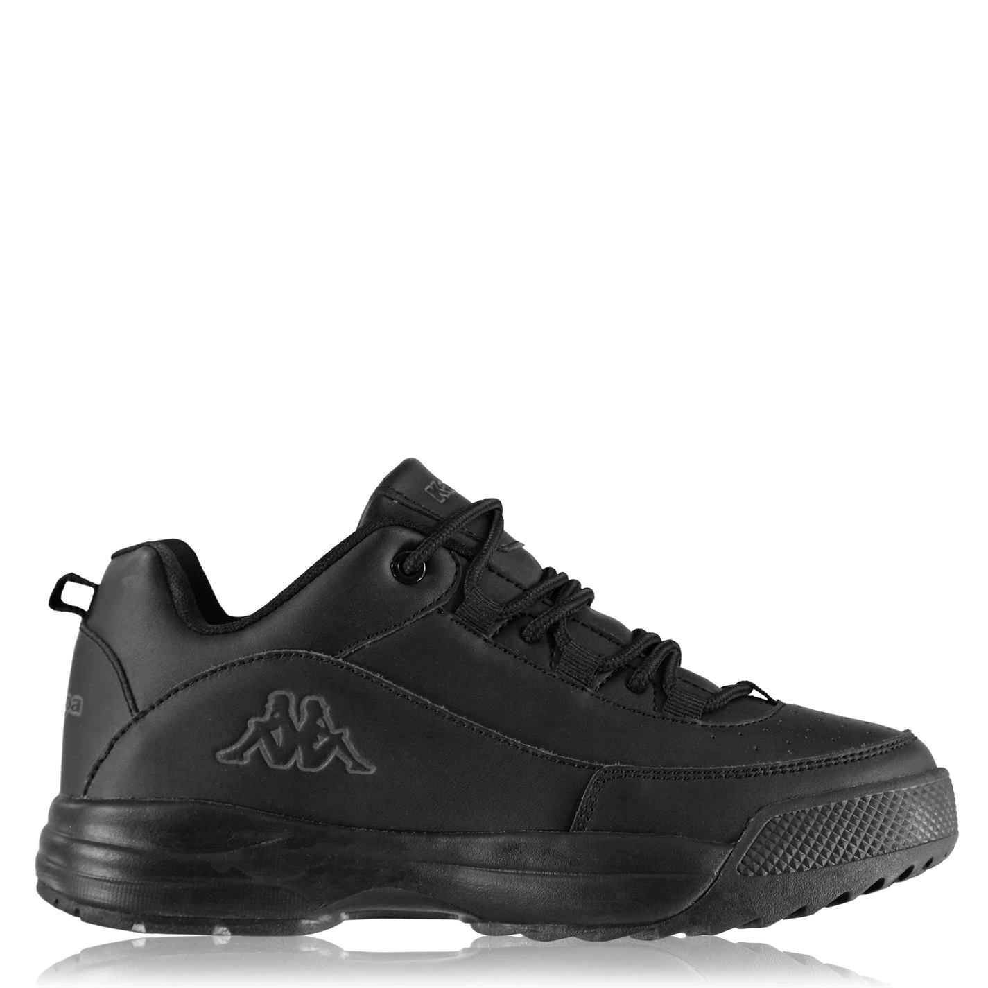 Kappa Montague Childrens Trainers Black/Blk