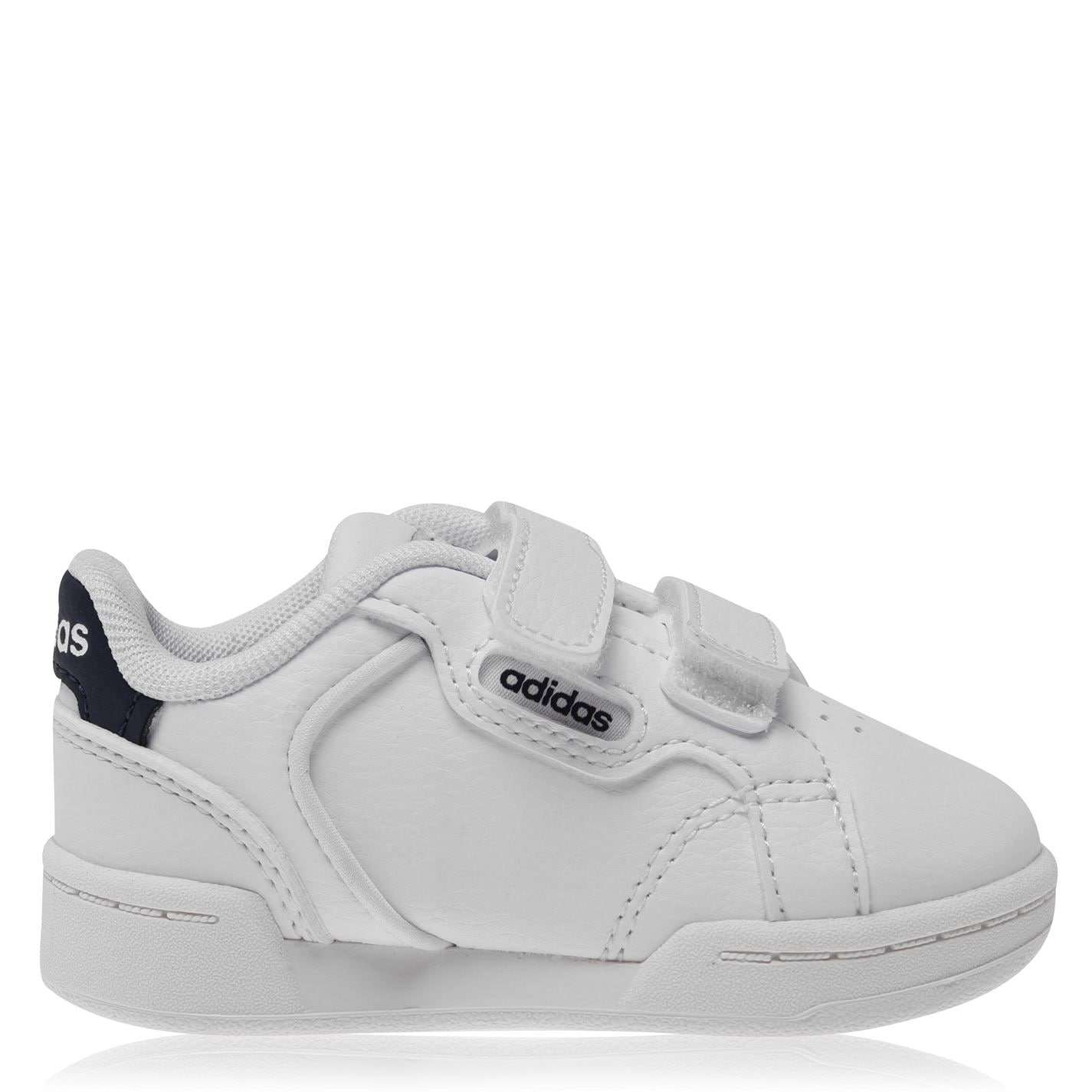 adidas Roguera Court Trainers Infant Boys White/Navy