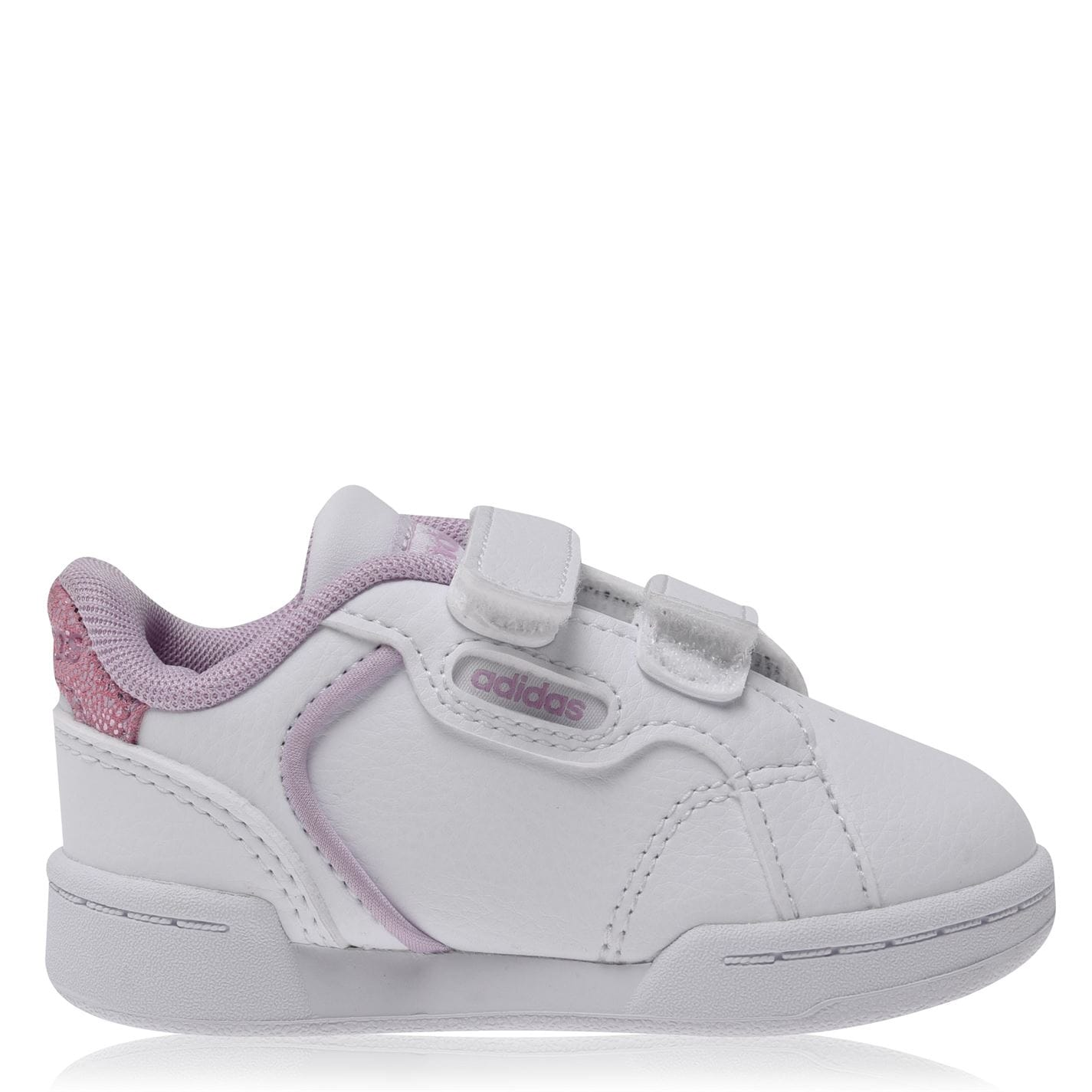 adidas Roguera Court Trainers Infant Girls White/Wht/Lilac