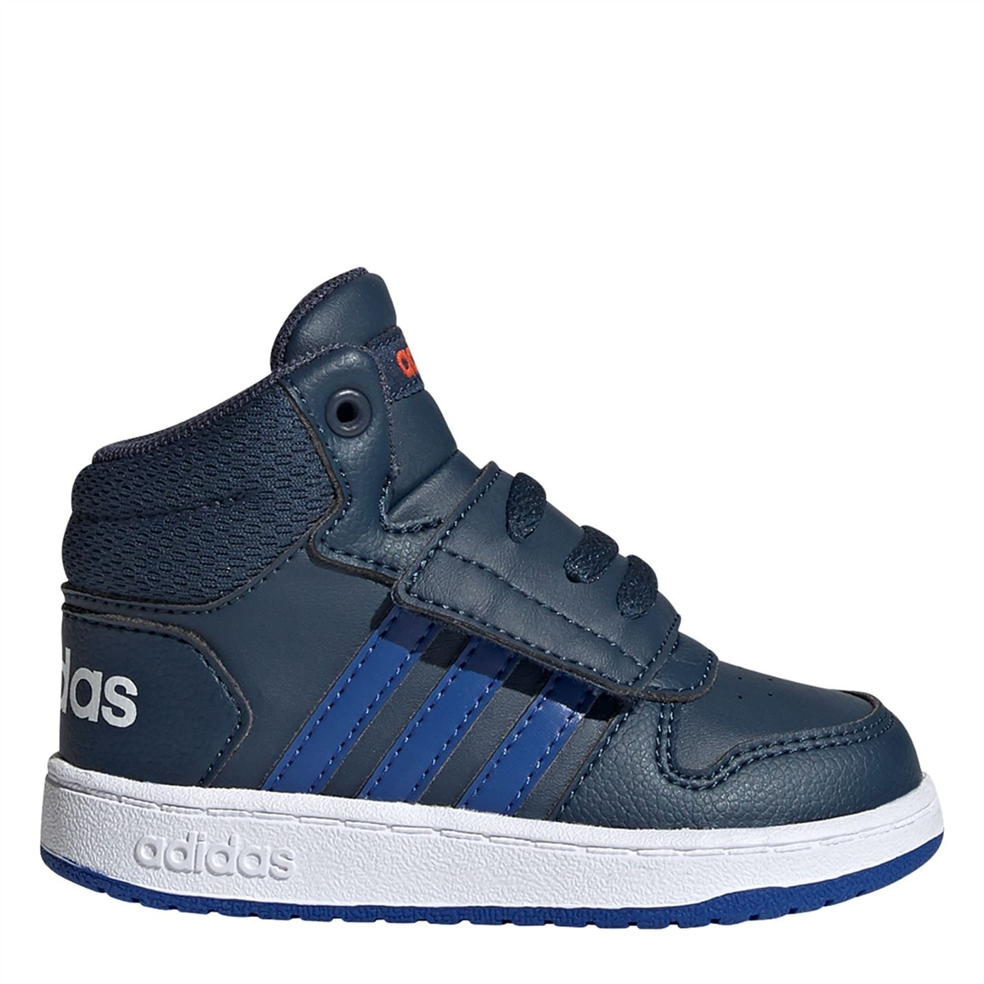 adidas Hoops Court Infant Boys Trainers Navy