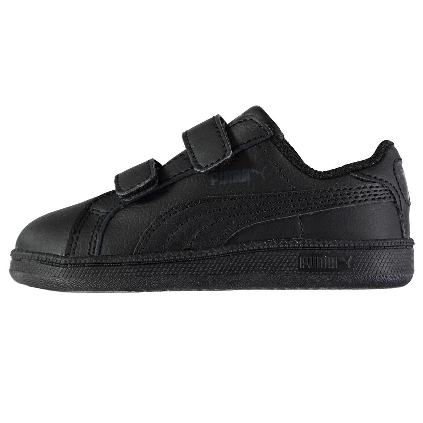 Puma Smash Suede Fun Court Trainers Infant Boys Black