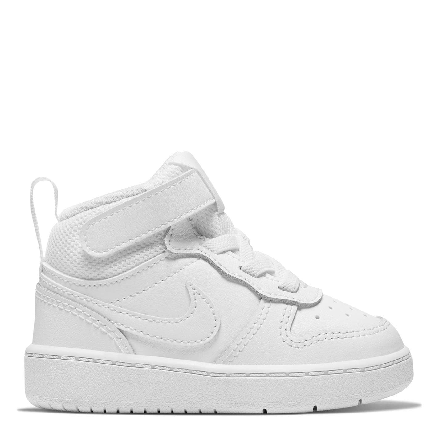 Nike Court Borough Mid 2 Baby/Toddler Shoe White/White