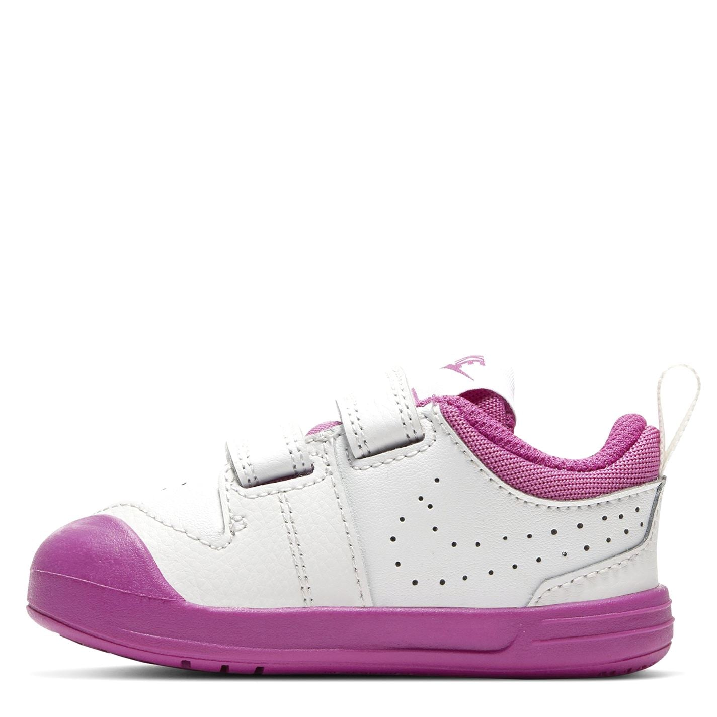 Nike Pico 5 Infant/Toddler Shoe Platin/Wht/Pink