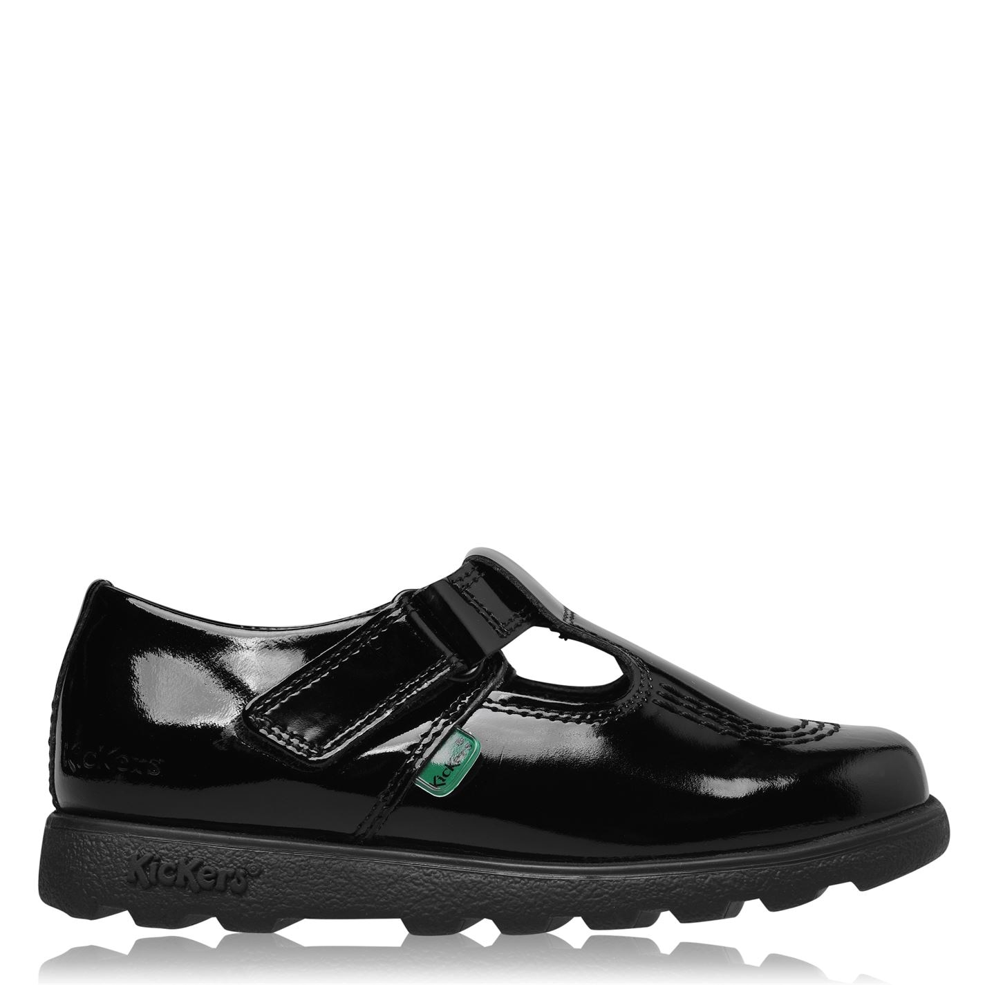 Kickers T-Bar Shoe Child Girls Black