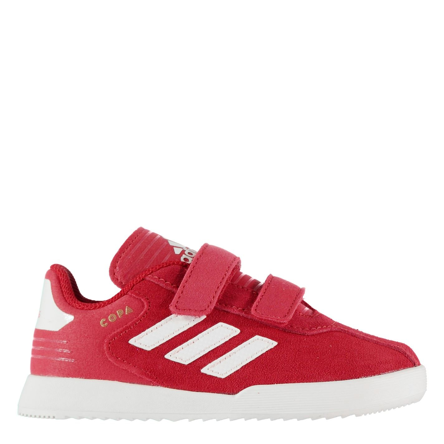adidas Copa Super Suede Infants Trainers Red/White