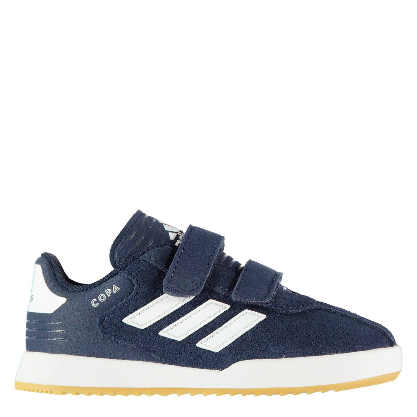 adidas Copa Super Suede Infants Trainers Navy/White