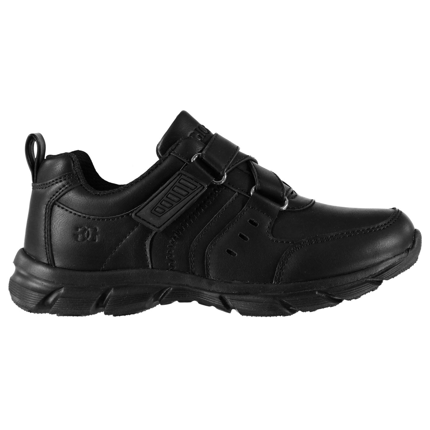Giorgio Strap Boys Shoes Black