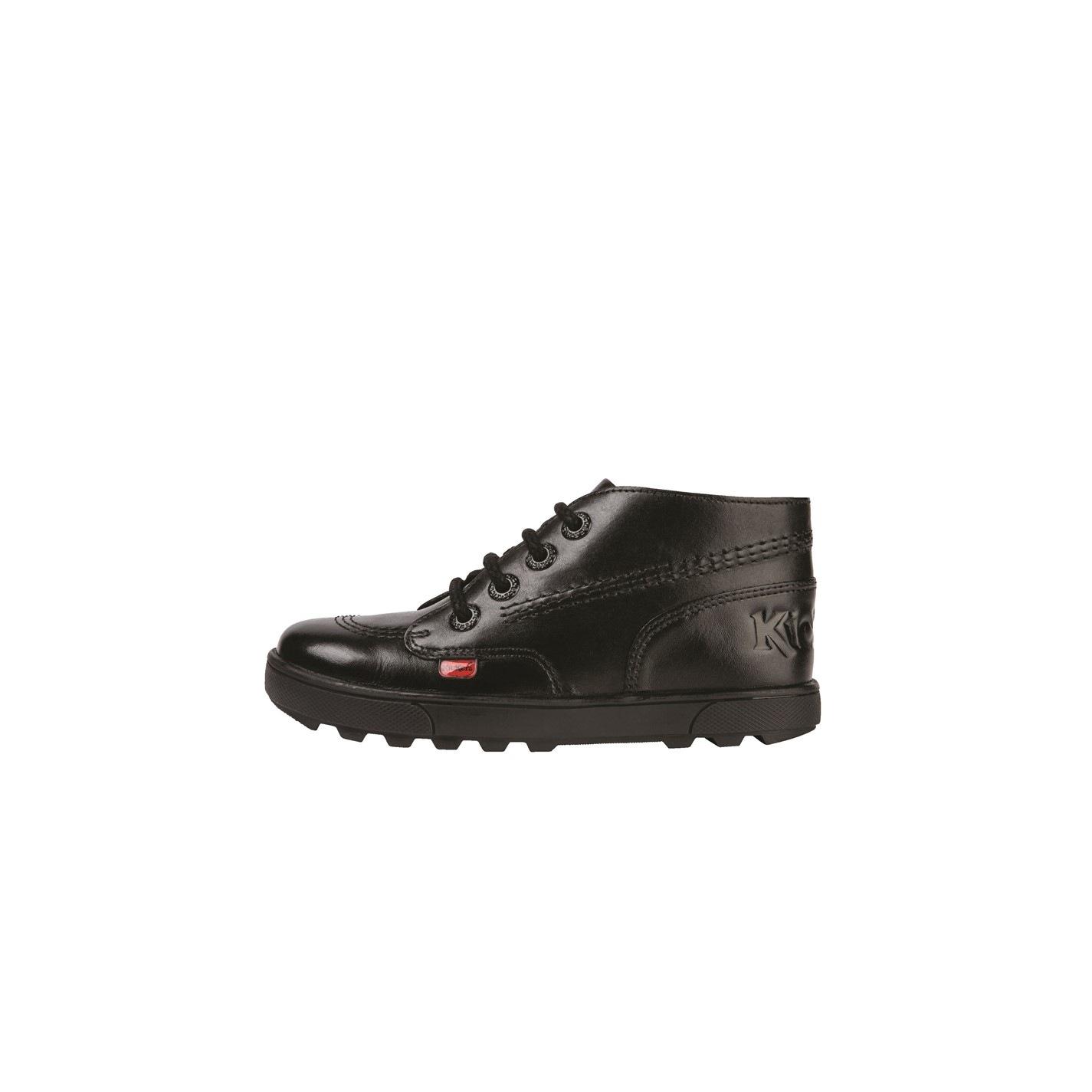 Kickers Disley Hi Infants Shoes Black