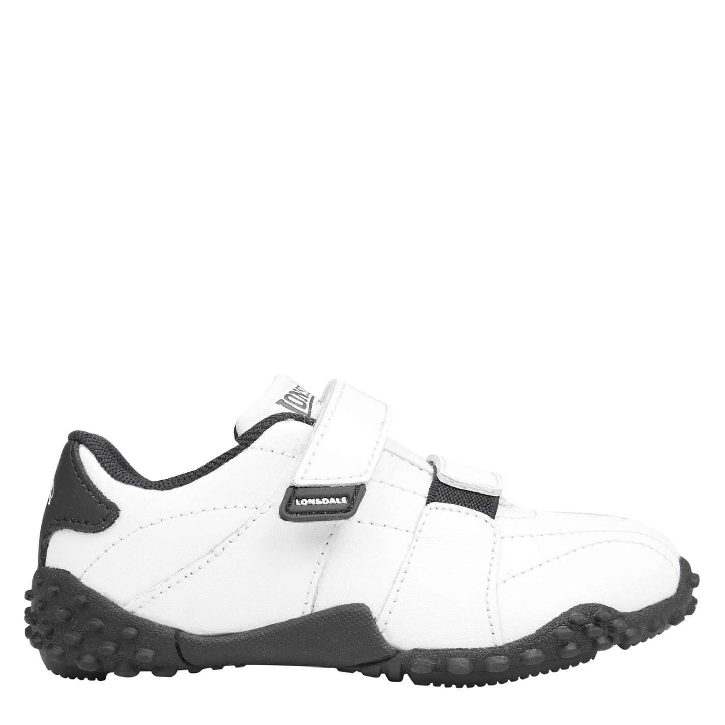 Lonsdale Fulham Infants Trainers White/Navy