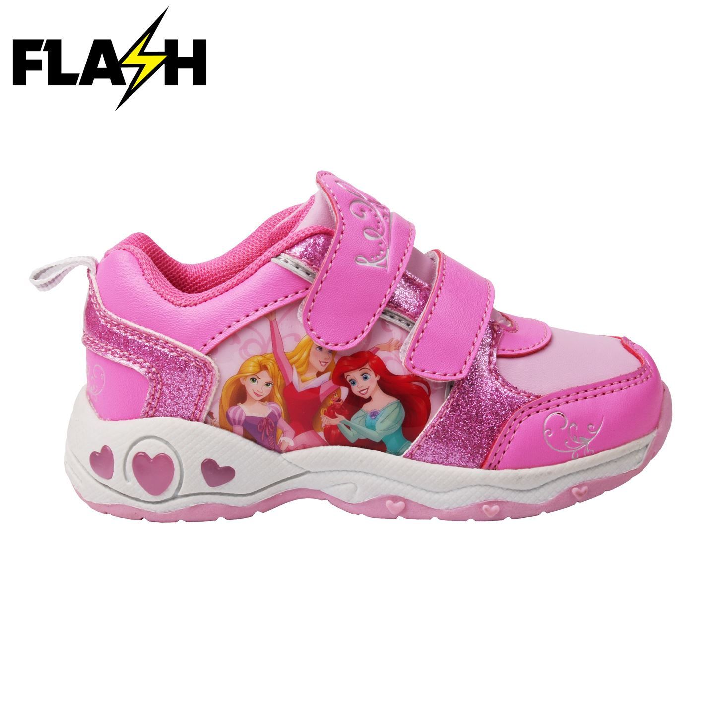 Character Light Up Infants Trainers Disney Princess