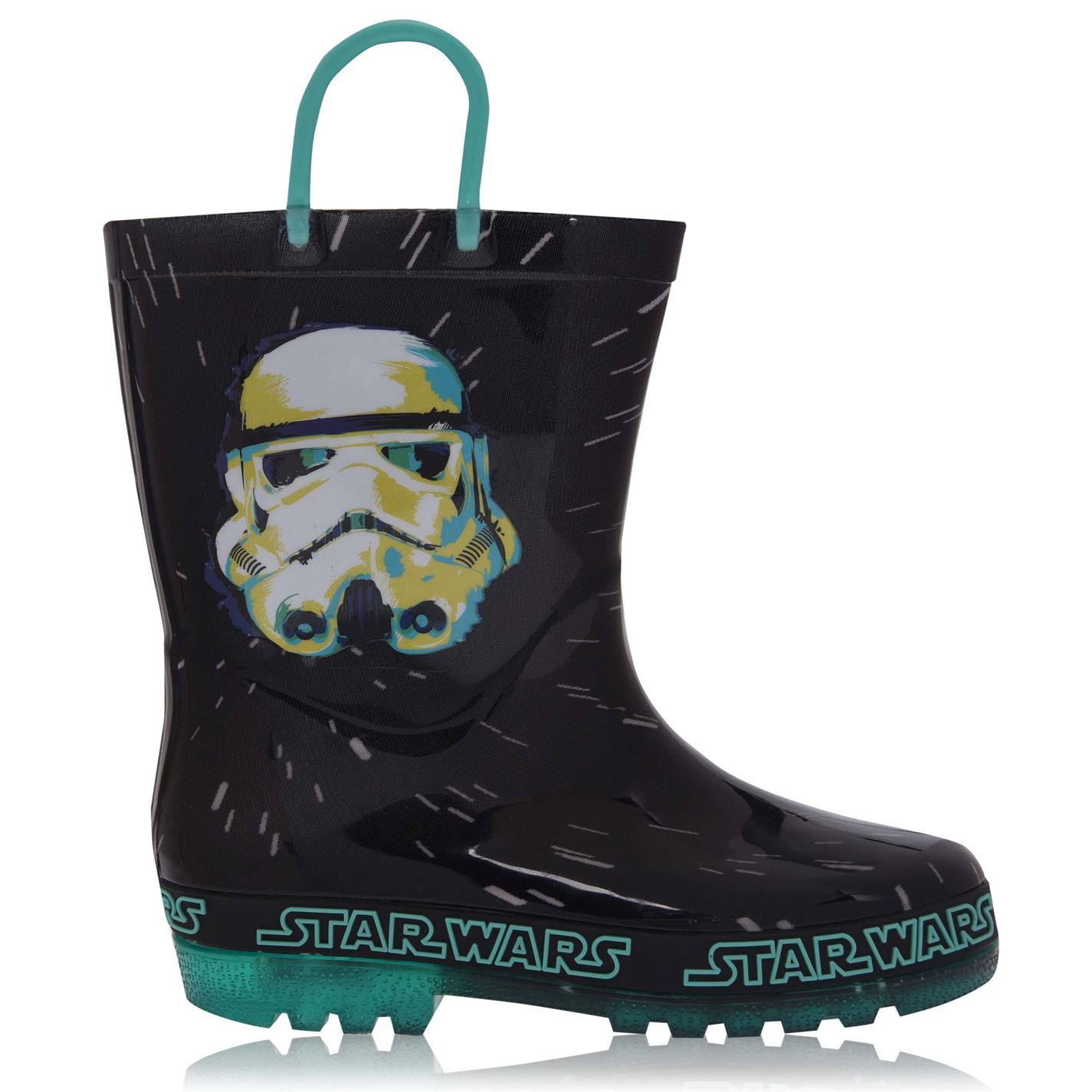 Character Light Up Wellingtons Unisex Infants Star Wars