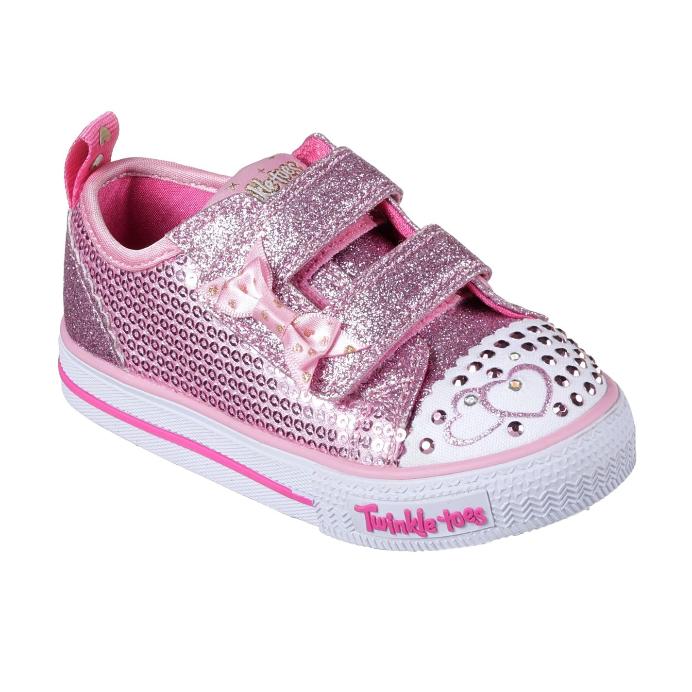 Skechers Twinkle Toes Itsy Bitsy Shoes Infant Girls Pink