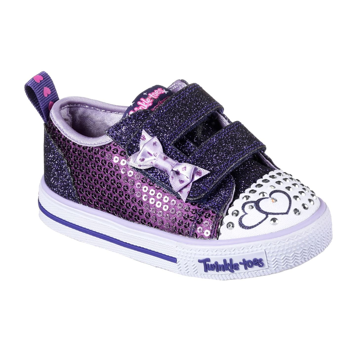Skechers Twinkle Toes Itsy Bitsy Shoes Infant Girls Purple