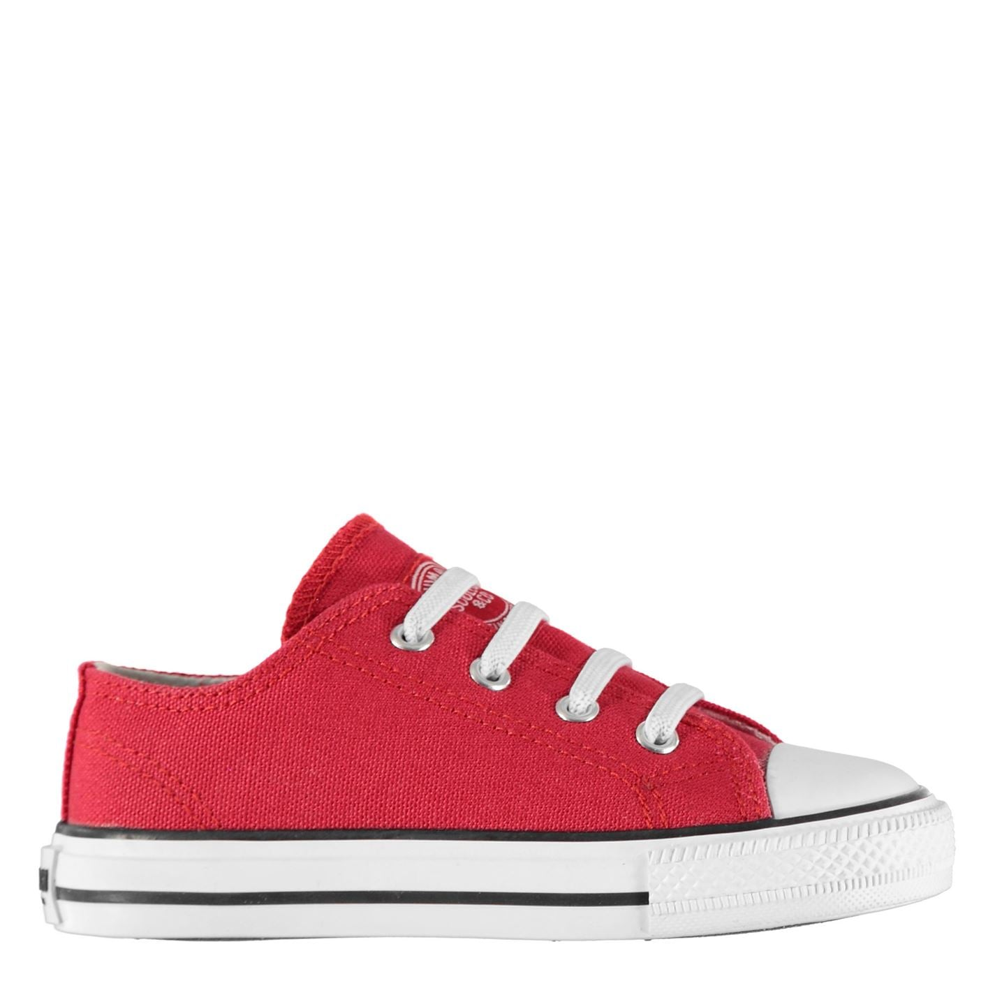 SoulCal Low Infants Canvas Shoes Red