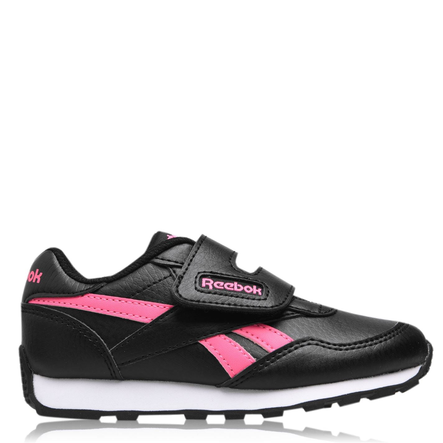 Reebok Rewind Girls Trainers BLACK/SOPINK/SOPINK