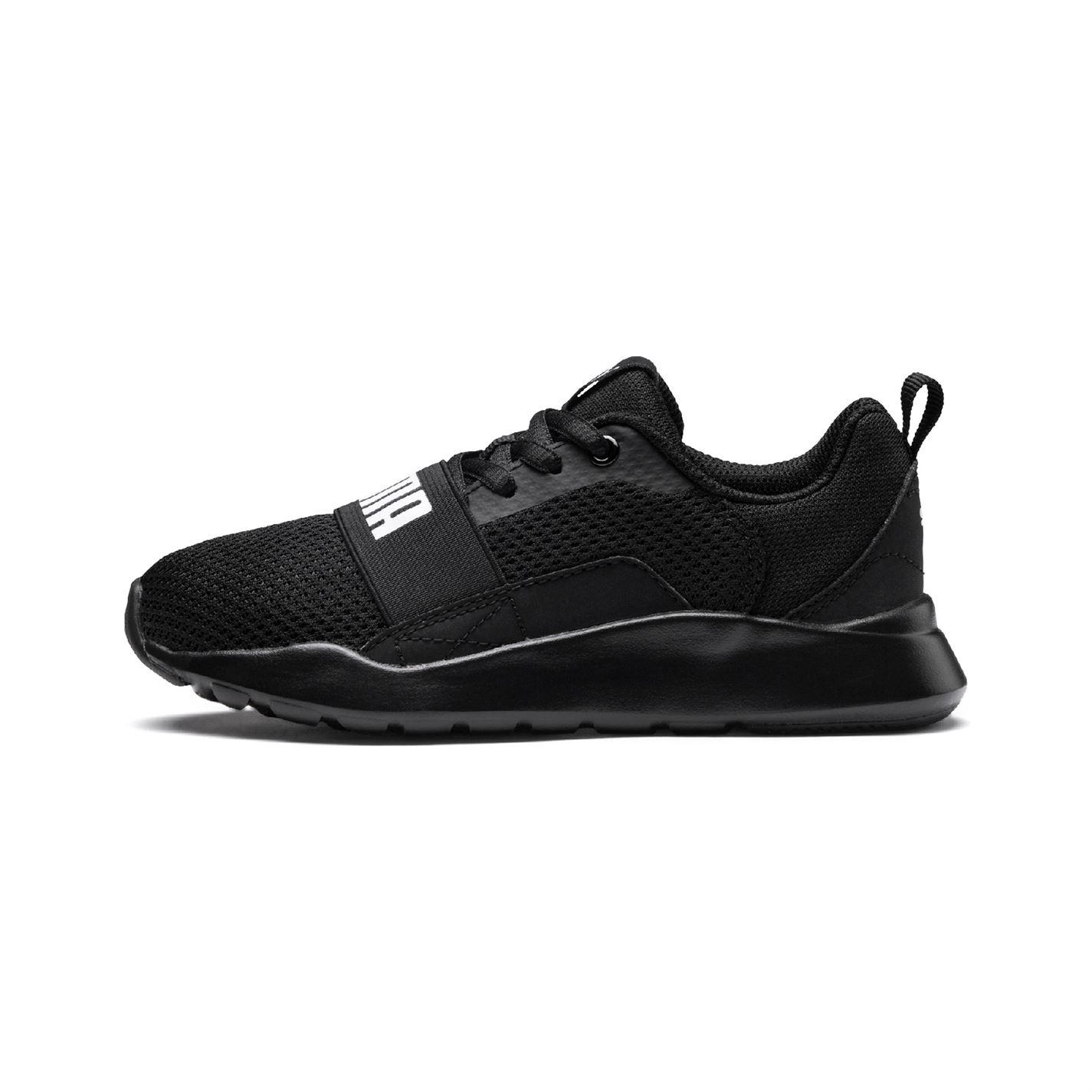 Puma Wired Child Boys Trainers Black