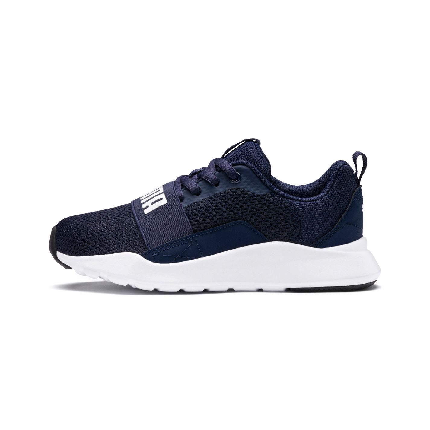 Puma Wired Child Boys Trainers Navy
