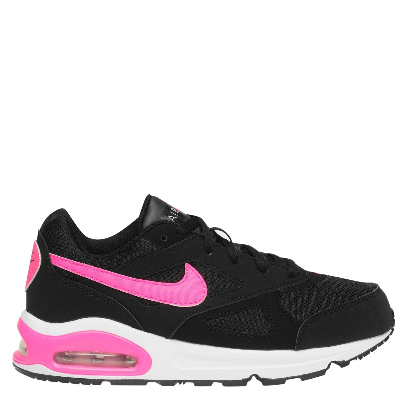 e4a83641f42 Nike Air Max Ivo Girls Trainers Black Pink