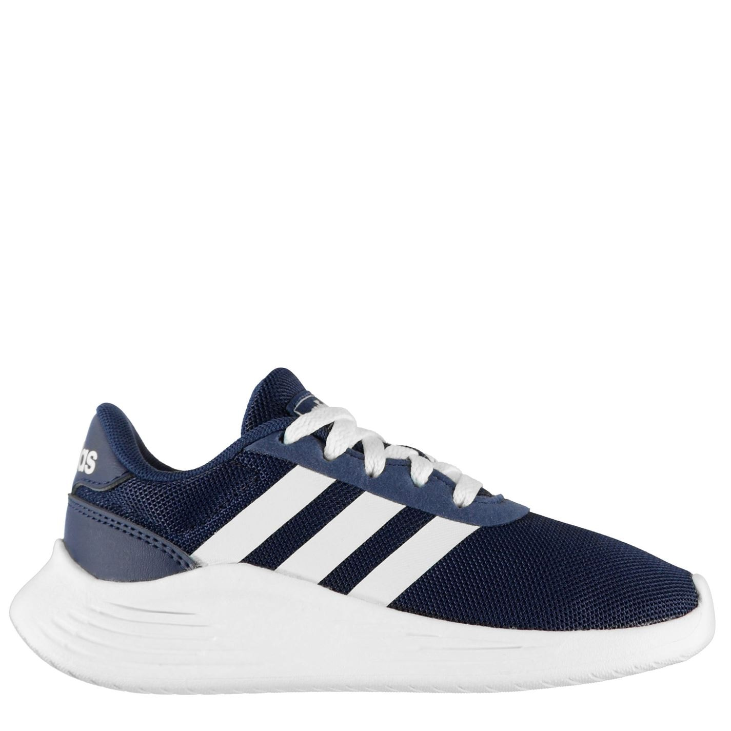adidas Lite Racer 2 Trainers Child Boys Navy/Wht/Wht