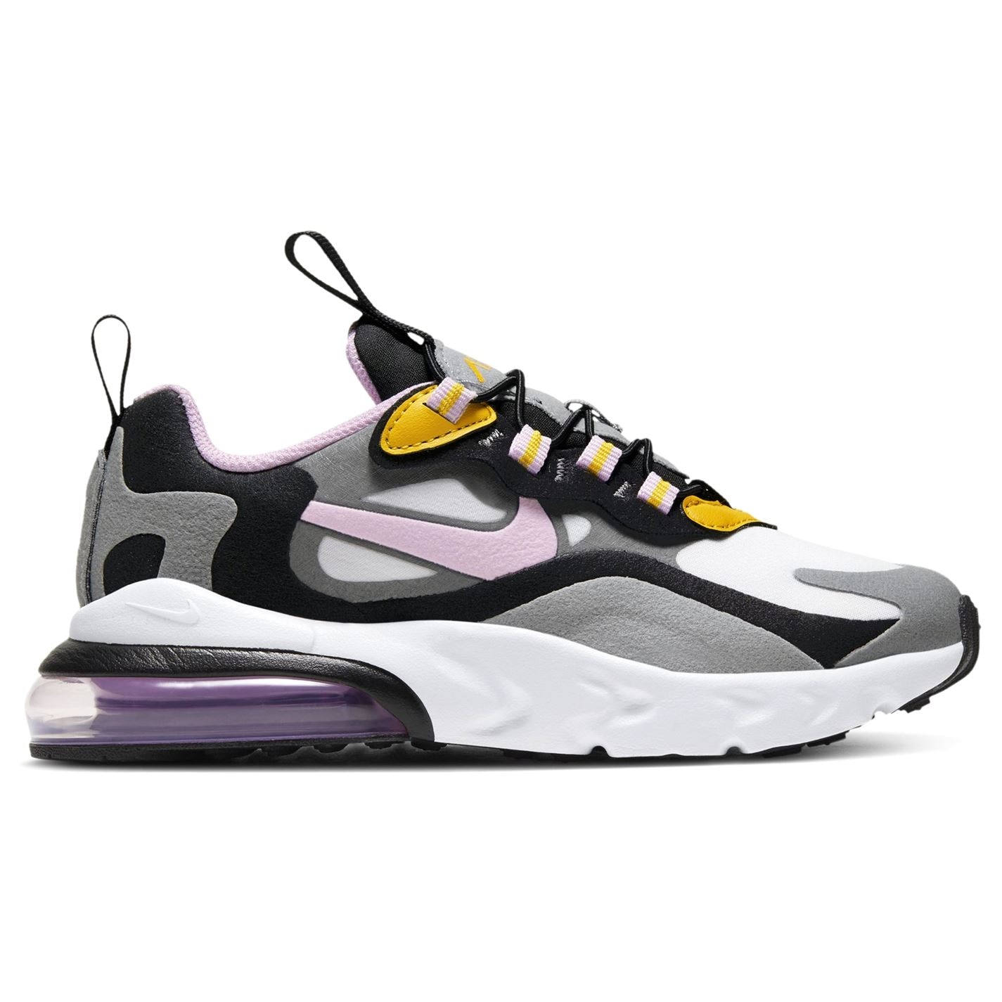 Nike Air Max 270 Child Girls Trainers Grey/Pink
