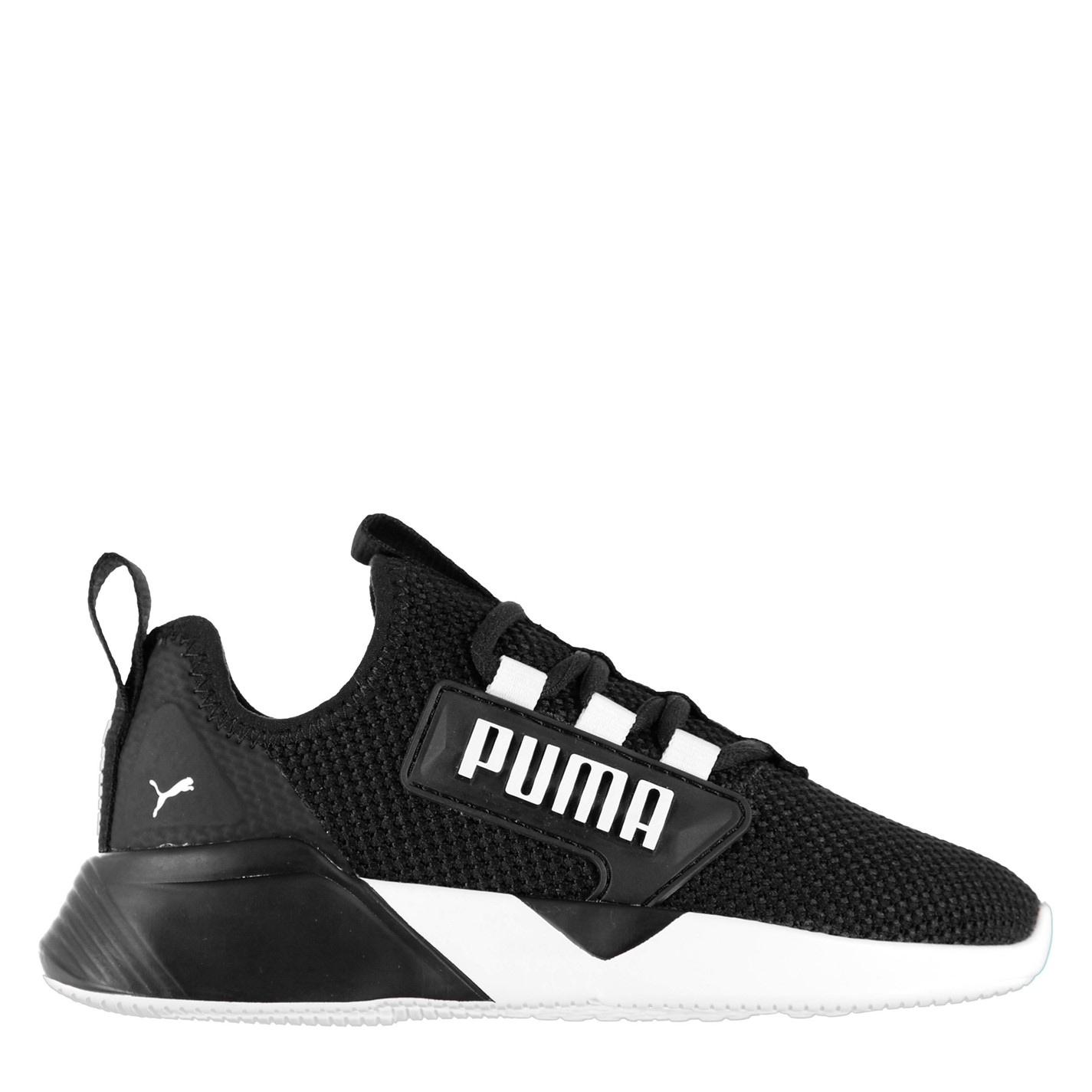 Puma Retaliate Child Boys Trainers Black/White
